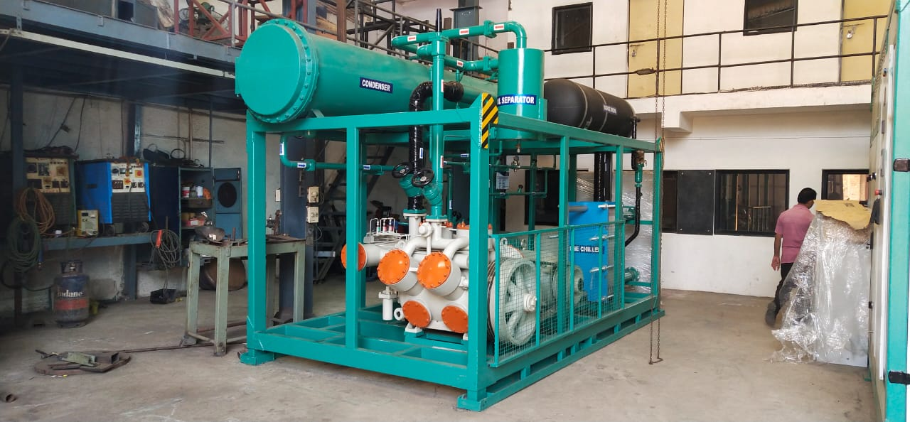 compressor for milk dairy