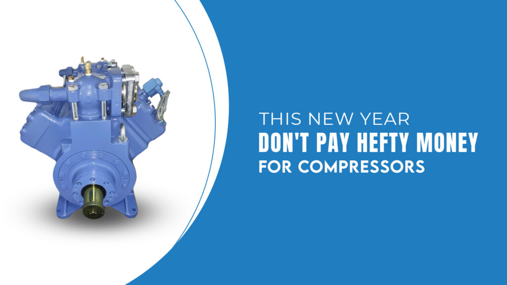 This New Year Don't Pay Hefty Money For Compressors